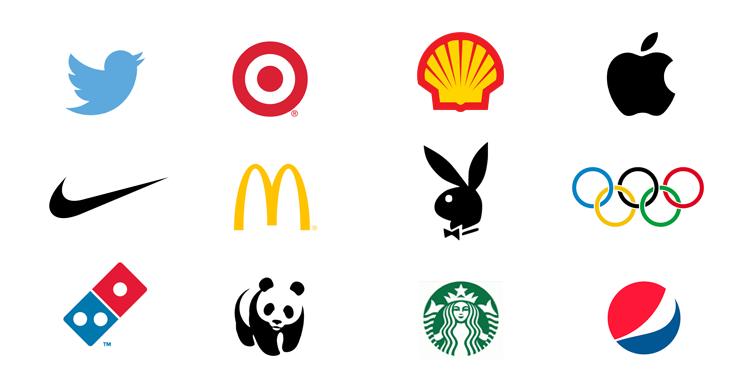 Alcuni loghi professionali famosi creati con Illustrator