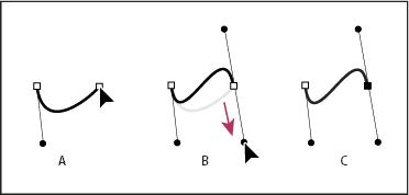 Strumento penna linea curva Illustrator muovere i primi passi